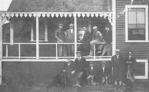 The Beachcomber Dory Club, occupants of the building before the Sea Scout took over. From the Peach Collection
