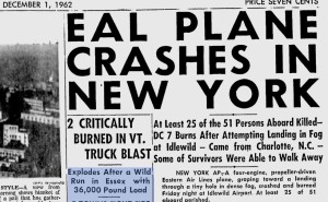 November 30, 1962--A plane crash and a tanker explosion that affected me and my family.