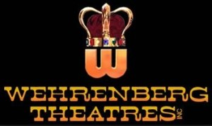 The crown in the Wehrenberg log originated when the chain opened the Crown Theater in 1936