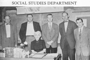 Teachers from Marblehead High School 1957 Yearbook