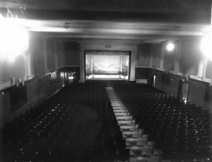 The Marblehead theater as it looked in my childhood.