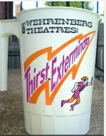 Wehrenberg's up-to-date soda cup design