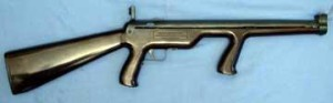 BB Gun powered by rubber band, like a slingshot